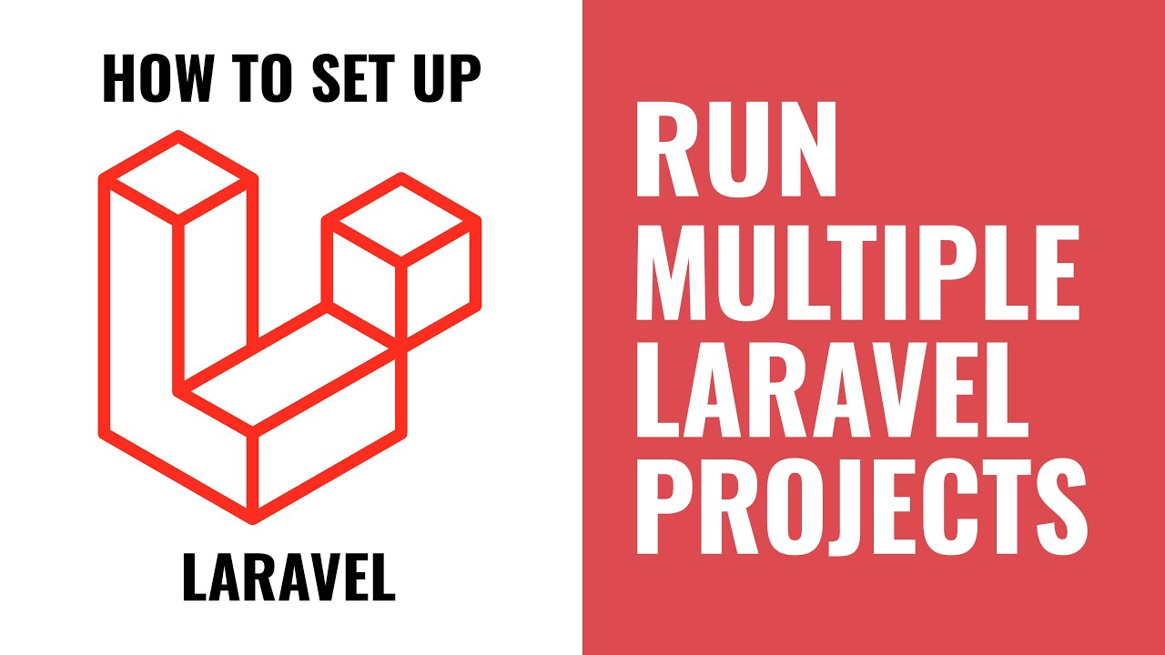 How to run multiple Laravel projects at same time?