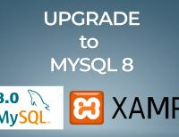 XAMPP - UPGRADE MYSQL to version 8.0